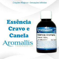 Essência Cravo e Canela 100 ml – Oleosa Inspiração Olfativa : Cravo e Canela