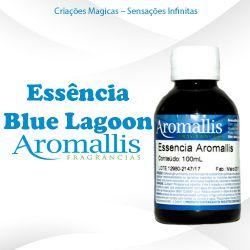 Essência Blue Lagoon 100 ml – Oleosa Inspiração Olfativa: Blue Lagoon