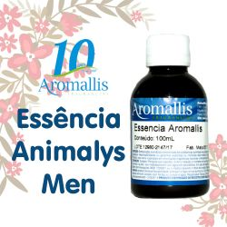 Essência Animalys Men 100 ml – Inspiração Olfativa : Animale