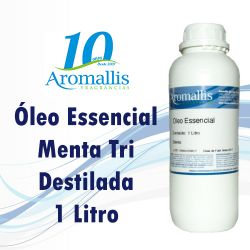 Menta Tri Destilada 1 Litro – Óleo Essencial