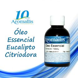 Eucalipto Citriodora Natural 100 ml – Óleo Essencial