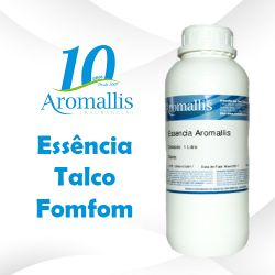Essência Talco Fomfom 1 Litro – Oleosa Inspiração Olfativa : Talco Pompom