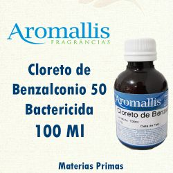 Cloreto de Benzalconio 50 – Bactericida – 100 Ml
