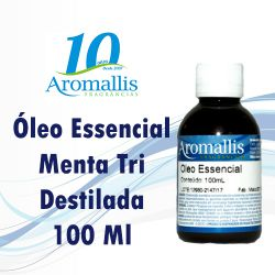 Menta Tri Destilada 100 Ml – Óleo Essencial
