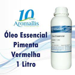 Pimenta Vermelha - 1 litro-  Óleo essencial