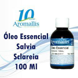 Salvia Sclareia 100 Ml – Óleo Essencial