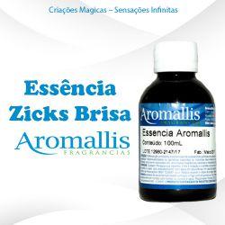 Essência Zicks Brisa 100 ml – Oleosa Inspiração Olfativa : Zicks Brisa