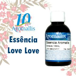 Essência Love Love 100 ml – Inspiração Olfativa : AMOR AMOR