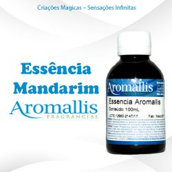 Essência Mandarim 100 ml – Hidrossolúvel – Inspiração Olfativa : Mandarin