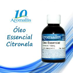 Citronela 100 ml – Óleo Essencial