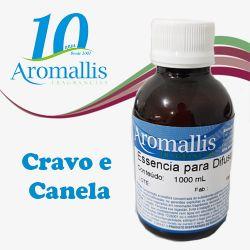 Cravo e canela 100 ml – Essências para Difusores