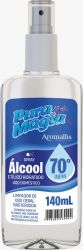 Alcool 70 Liquido em Spray 140ml